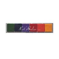 Hộp Mực Dấu 6 Màu Gradient Let s Color thumbnail
