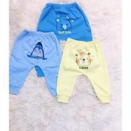 Set 3 quần thu đông cotton bé trai, bé gái (3-18 tháng) thumbnail