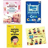 Combo bách khoa nuôi dạy trẻ 0-3 tuổi+nuôi con không phải cuộc chiến+chờ đến mẫu giáo thì đã muộn+kỹ năng vận động chơi kéo co(tặng kèm sách người Mỹ giúp con ham đọc sách) thumbnail