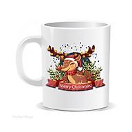 Cốc sứ Merry Christmas cốc uống nước lưu niệm thumbnail