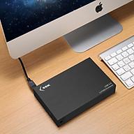 Hộp Đựng Ổ Cứng Gắn Ngoài HDD Box 3.0 SSK HE-G3000 3.5 Sata AZONE - Hàng Nhập Khẩu thumbnail