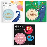 Sách ehon - Set 3 cuốn Moi Moi và những người bạn - Dành cho trẻ từ 0-2 tuổi thumbnail