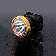 Đèn pin siêu sáng cầm tay đèn pin siêu sáng đội đầu chiếu tầm xa hàng chính hãng Hewolf thumbnail