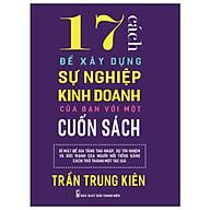 17 Cách để xây dựng sự nghiệp kinh doanh của bạn với một cuốn sách thumbnail