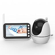 Máy báo khóc Baby monitor mbk502 màn hình lớn, HD720p, xoay 360o thumbnail