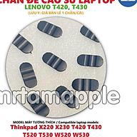 CHÂN ĐẾ CAO SU DÀNH CHO LENOVO T420 T430 dùng cho Thinkpad X220 X230 T420 T430 T520 T530 W520 W530 thumbnail