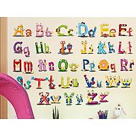 Decal dán tường Chữ Cái ABC thumbnail