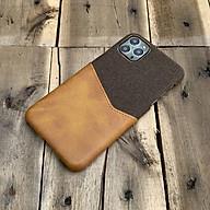 Ốp lưng da vải kiêm ví cao cấp dành cho iPhone 11 Pro Max thumbnail