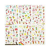 Bộ 6 tấm sticker cô bé quàng khăn đỏ ( trang trí sổ nhật ký, sổ kế hoạch) thumbnail