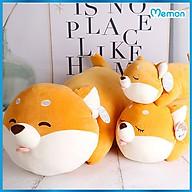 Gấu bông Chó Shiba biểu cảm cao cấp - Hàng chính hãng Memon - Đồ chơi thú nhồi bông Shiba biểu cảm, Nhung mềm mịn cao cấp, Shiba bông bền đẹp, dễ dàng sử dụng và an toàn cho trẻ nhỏ thumbnail