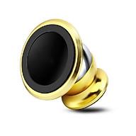 Giá đỡ đế hít nam châm điện thoại 360 độ trên xe hơi ( logo ngẫu nhiên ) - Tặng Vòng tay RUBY thumbnail