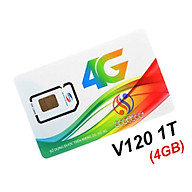 SIM 3G 4G VIETTEL V120N -4GB NGÀY, MIỄN PHÍ NỘI MẠNG, MIỄN PHÍ 50 PHÚT NGOẠI MẠNG.- chính hãng thumbnail
