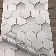 Combo 10M decal giấy dán tường hình lục giác (10mx0.45m) - HP464 thumbnail
