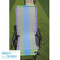 Ghế xếp gấp gọn dây đan đài loan khung sơn tĩnh điện thumbnail