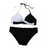 Bộ Đồ Bơi Bikini Đi Biển Co Dãn Polyester thumbnail