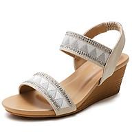 Giày quai ngang nữ giày sandals nữ dép quai hậu nữ cao 5 cm Mã 320-270A thumbnail