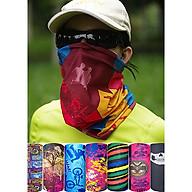 Khẩu trang khăn đa năng chống độc hại tiện dụng kiểu dáng đơn giản phù hợp cho cả nam và nữ - Mẫu ngẫu nhiên thumbnail