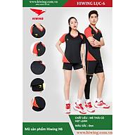 Bộ quần áo Bóng Chuyền cao cấp thương hiệu Hiwing H6 màu đen thumbnail