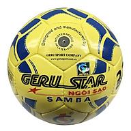 Bóng đá Gerustar Size 4 Samba khâu tay (Tặng Băng dán thể thao + Kim bơm + Lưới đựng) thumbnail