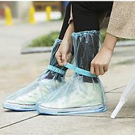 Túi Bọc Giày Đi Mưa Thời Trang, Phượt, Đi học, Đi Làm Màu Xanh Dương FiDi thumbnail