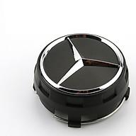 1 chiếc logo chụp mâm, ốp lazang bánh xe ô tô, xe hơi TY-886 dùng cho xe Mercedes thumbnail