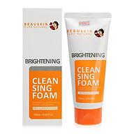 Sữa rửa mặt Beauskin Brightening Cleansing Foam Hàn Quốc 180ml Kèm móc khoá thumbnail