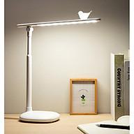 Đèn led để bàn nút cảm ứng chạm (BA CHẾ ĐỘ SÁNG) - Tặng kèm quạt mini cắm cổng USB vỏ nhựa giao màu ngẫu nhiên thumbnail