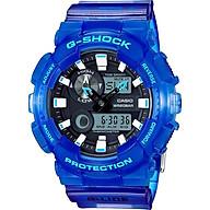 Đồng Hồ Nam Dây Cao Su Casio G-Shock-Gax-100Msa-2Adr-Tròn Nam Đen Kim Hình Điện Tử thumbnail