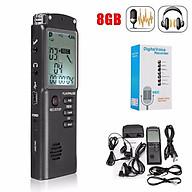 Máy ghi âm lọc tạp âm hiệu quả, độ nhiễu và độ méo tiếng được hạn chế tối đa khi Ghi âm các cuộc gọi, bài giảng, cuộc họp, phỏng vấn kiêm máy nghe nhạc MP3 kỹ thuật số 8GB tiện dụng+ 1 Speaker KBS-6029 KBS-6030 FM USB TF tích hợp đèn pin siêu sáng thumbnail