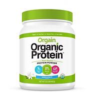 Bột Protein thực vật hữu cơ Orgain Organic Protein Greens 462g hương vani thumbnail
