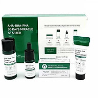Bộ Kit Ngăn Ngừa Mụn SOME BY MI AHA.BHA.PHA 30 Days Miracle Starter Kit thumbnail