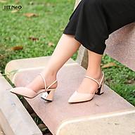 Sandal kín mũi, hở gót 5cm SDN70 thumbnail