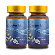 Combo 2 Thực Phẩm Chức Năng Tăng Cường Sinh Lý Nam Giới OYSTER MAN (Hộp 30 Viên) thumbnail