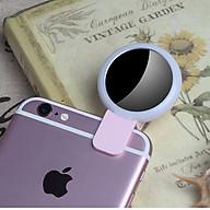 Đèn Led kiêm Gương soi trợ sáng chụp hình Selfie thumbnail