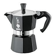 Ấm pha cà phê Bialeti Moka Express 3 TZ Nera (130Ml ) Hàng chính hãng. thumbnail
