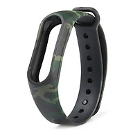 Camouflage Replacement Wristband Band Wrist Strap for Xiaomi Mi Band 2 thumbnail