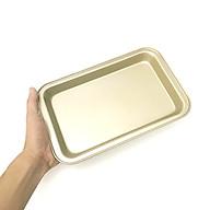 Khay Nướng Bánh Chữ Nhật Chống Dính 28 18 2.6cm (Mầu Vàng) thumbnail