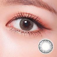 Kính áp tròng Hàn Quốc Clalen Iris dùng 1 ngày màu Suzy Gray thumbnail