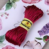 Bó dây tim bóng handmade 2,5mm - Bó dây vải dù bóng 2.5mm Ngọc Quý Gemstones thumbnail