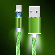 Dây Cáp Sạc Nhanh USB Từ Tính LED Cho Điện Thoại Thông Minh thumbnail