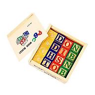 Đồ chơi gỗ dạng hình khối thông minh tặng kèm kẹp tóc ngọc trai thumbnail