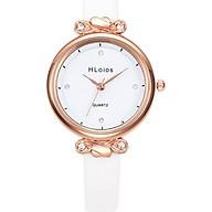 Chiếc đồng hồ thời trang nữ chính hãng Hloios, phiên bản nhỏ cực xinh, tặng vòng tay Titan - Hàng nhập khẩu thumbnail