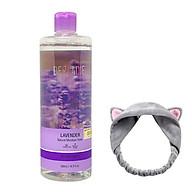 Nước hoa hồng kháng viêm, kiềm dầu và hỗ trợ làm giảm mụn Derladie Lavender Natural Moisture Toner 500ml + tặng 1 băng đô tai mèo xinh xắn ( màu ngẫu nhiên) thumbnail