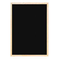 Bảng Menu Khung Gỗ (60 x 80 Cm) - Tặng Kèm Bút Dạ Quang, Hộp Phấn thumbnail