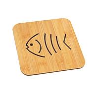 Đế lót nồi bằng gỗ họa tiết đa dạng - Mẫu ngẫu nhiên thumbnail