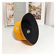 Mũ Tai Bèo Hoa Cúc 2 Mặt, Nón Bucket Tai Bèo 2 Mặt Chất Vải Kaki Mịn Form Chuẩn Đẹp thumbnail