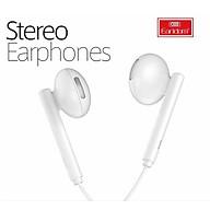 Tai nghe Stereo Earphones có dây Earldom jack 3.5 chống ồn dành cho các dòng điện thoại và MP3 MP3 Players - HÀNG CHÍNH HÃNG 100% màu ngẫu nhiên thumbnail