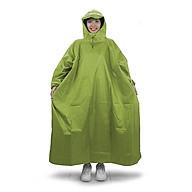 Áo mưa bít người vải dù tổ ong cao cấp freesize - Vàng thẫm thumbnail