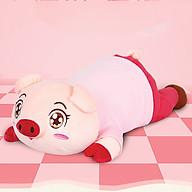 Gối massage Heo Con Dễ Thương tích hợp nhiệt hồng ngoại massage nhiệt đa tính năng Hàng chính hãng thumbnail