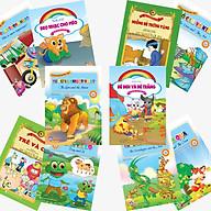 Combo 10 cuốn Truyện Ngụ ngôn Aesop Song ngữ - Truyện kể mầm non thumbnail